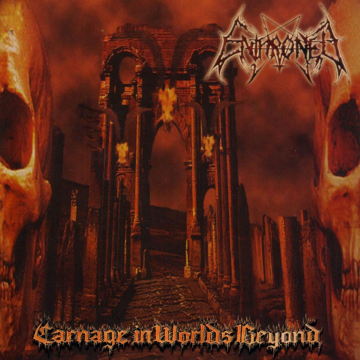 Review for Enthroned - Carnage in Worlds Beyond