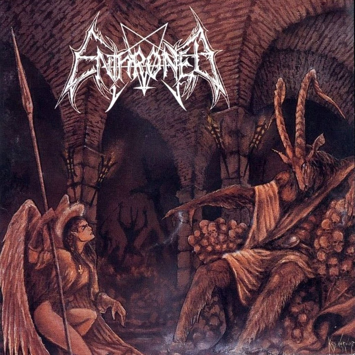 Review for Enthroned - Towards the Skullthrone of Satan