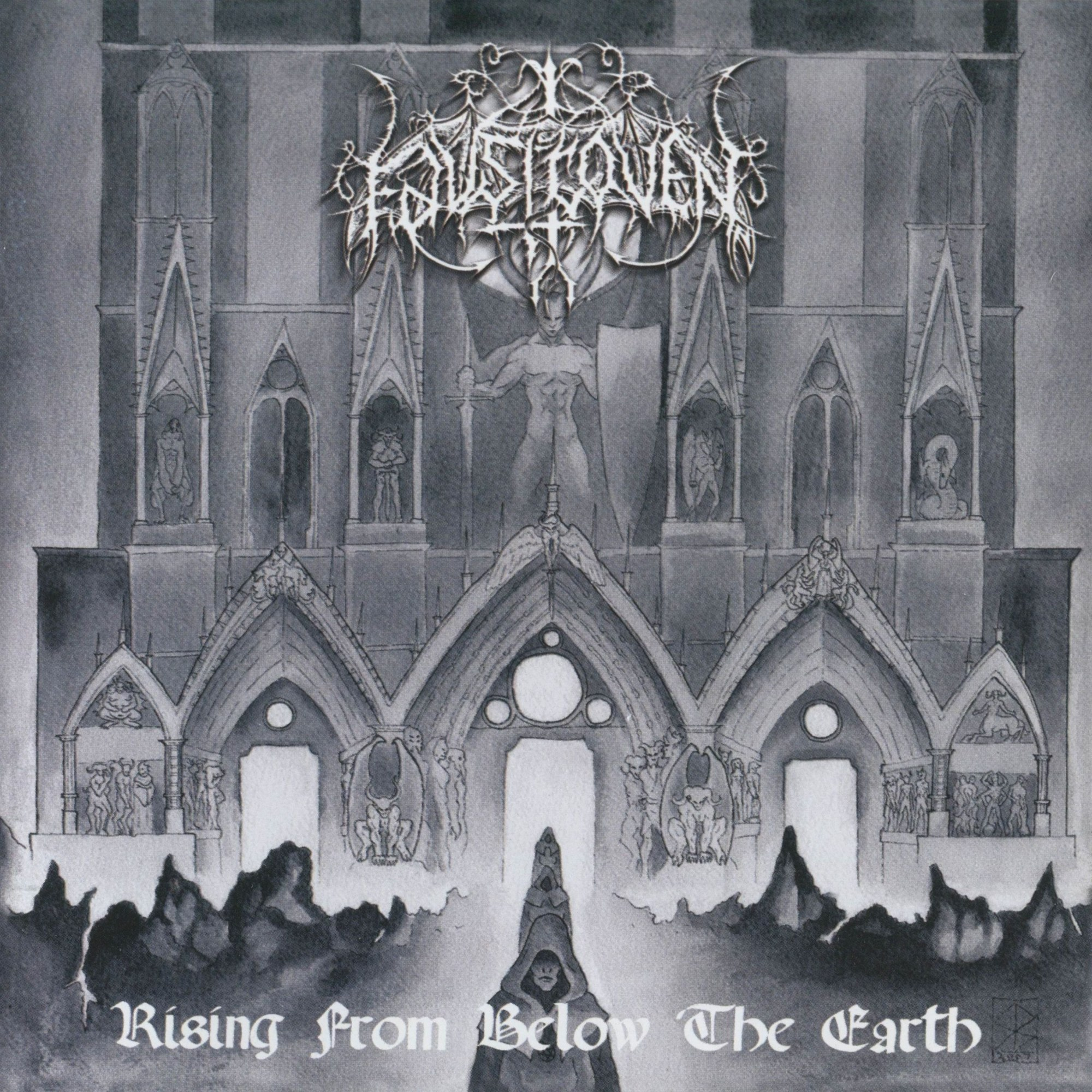 Review for Faustcoven - Rising from Below the Earth