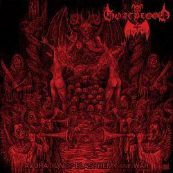Review for Goatblood (DEU) - Adoration of Blasphemy and War