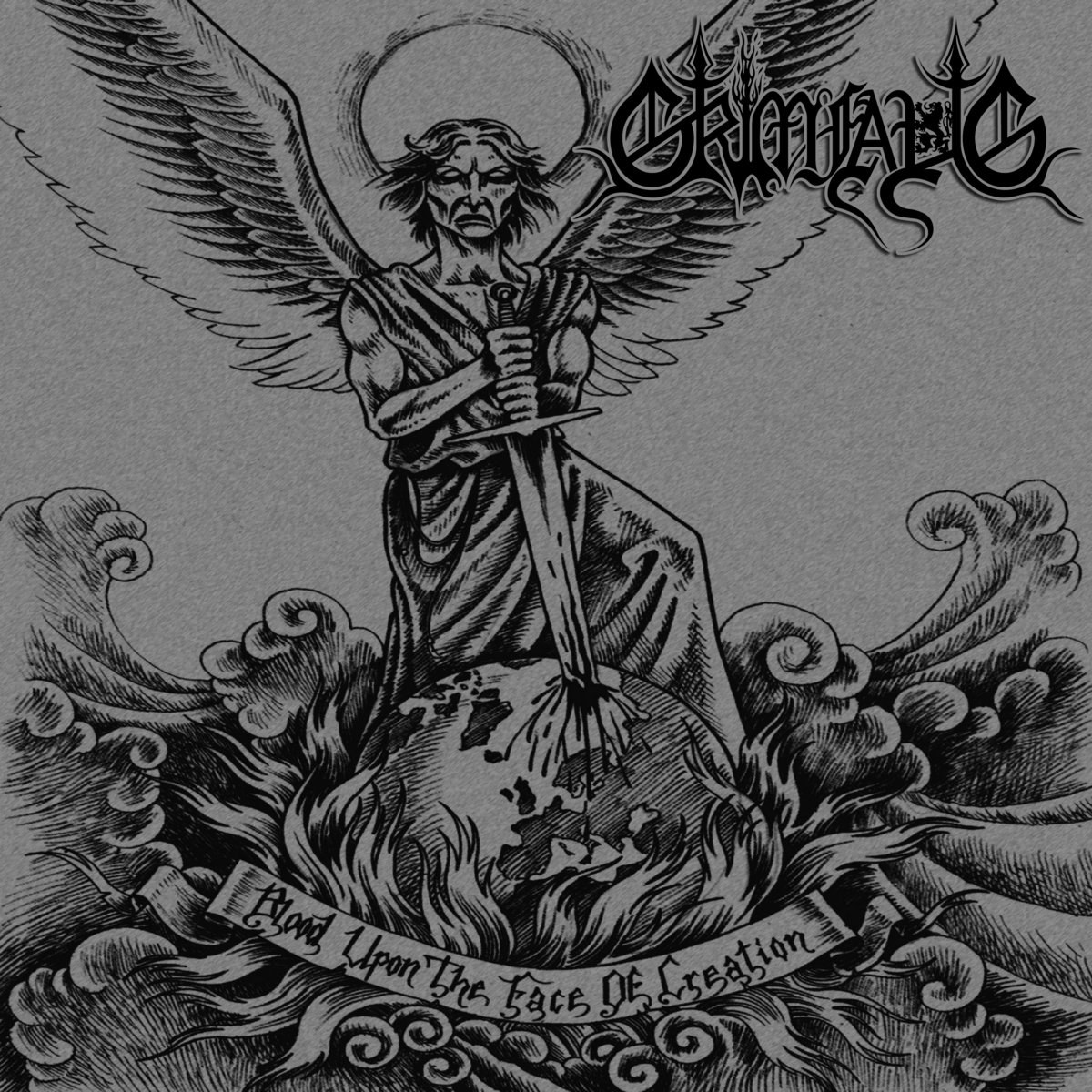 Review for Grimfaug - Blood Upon the Face of Creation