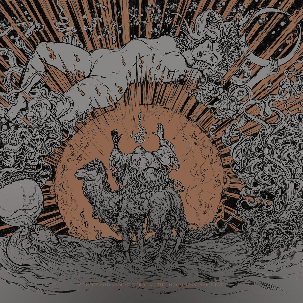 Hadit - With Joy and Ardour Through the Incommensurable Path