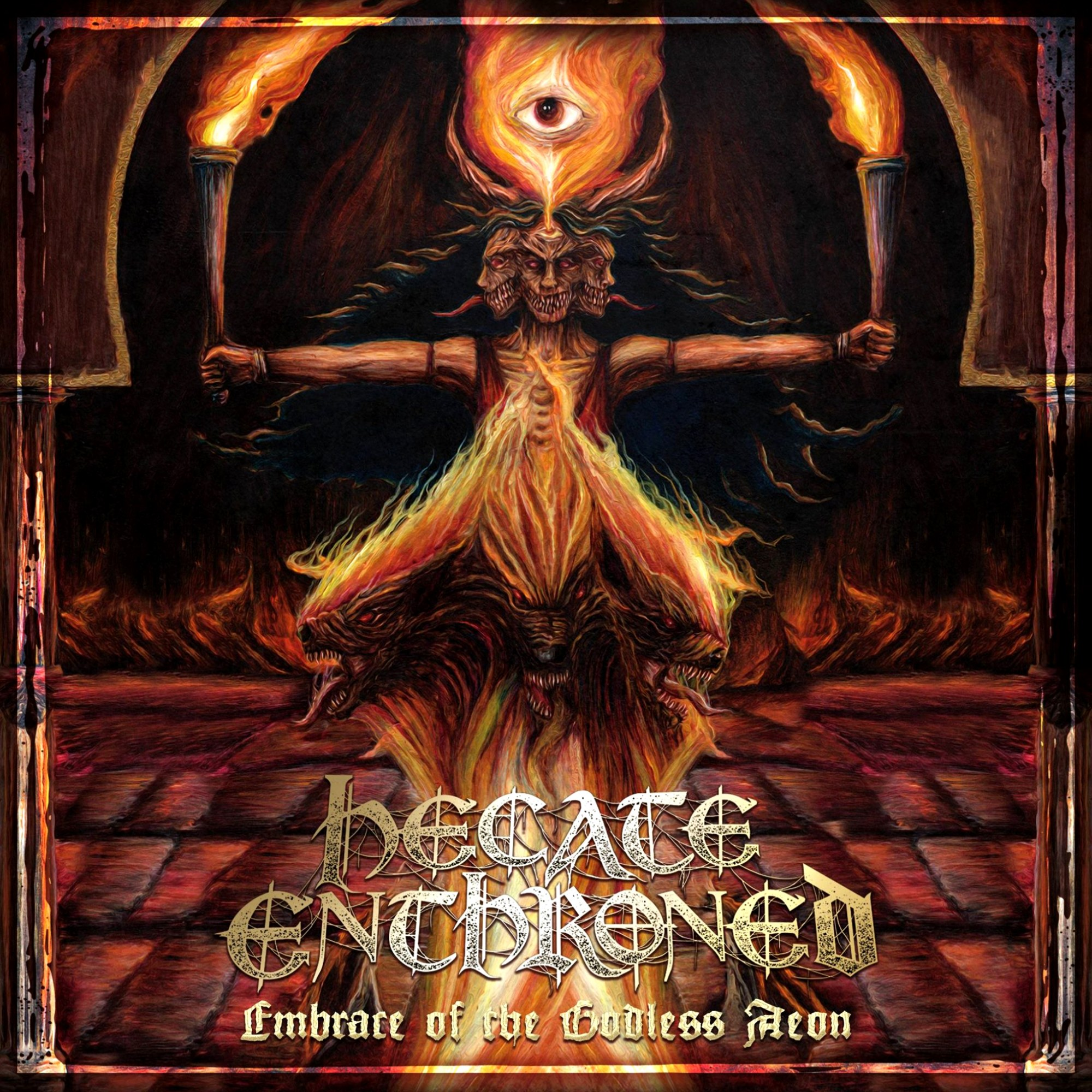Review for Hecate Enthroned - Embrace of the Godless Aeon