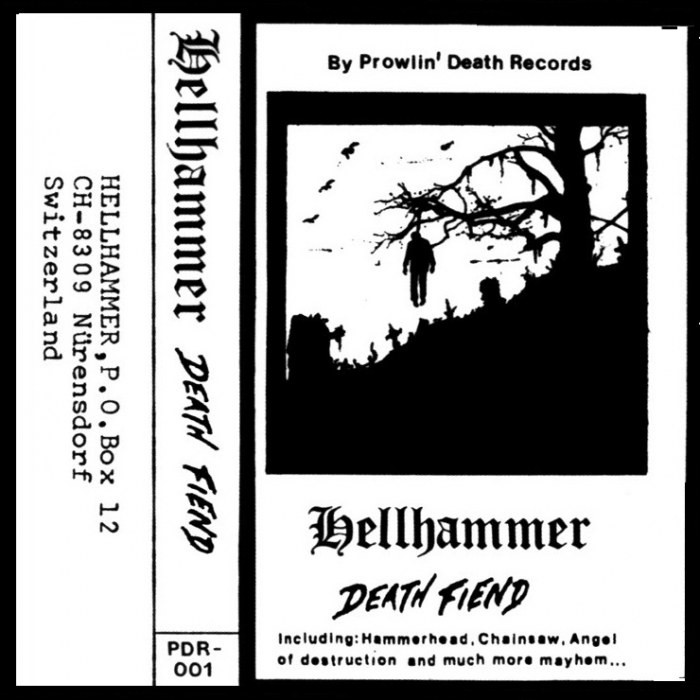 Review for Hellhammer - Death Fiend