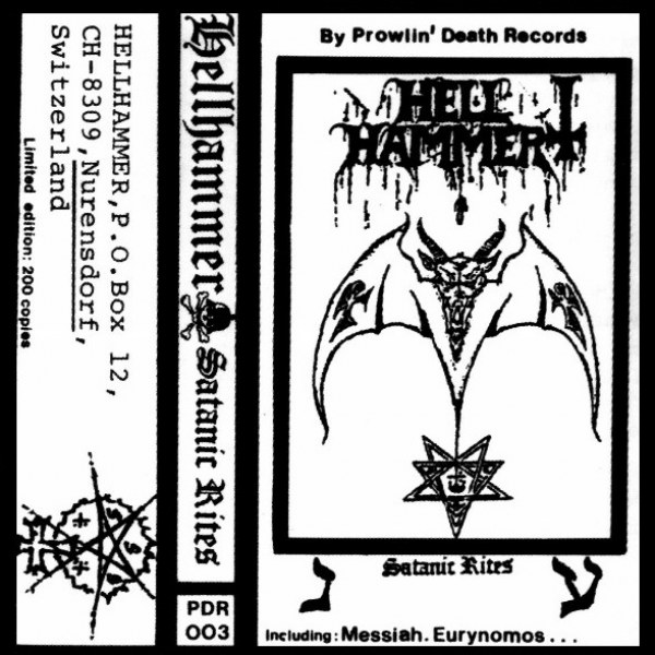 Review for Hellhammer - Satanic Rites