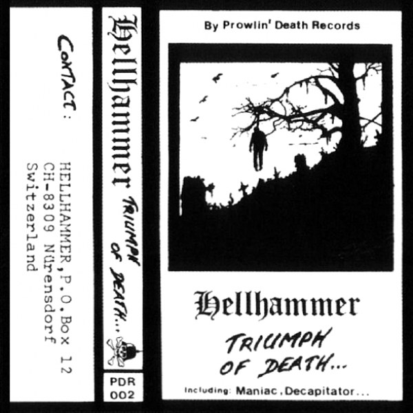 Review for Hellhammer - Triumph of Death