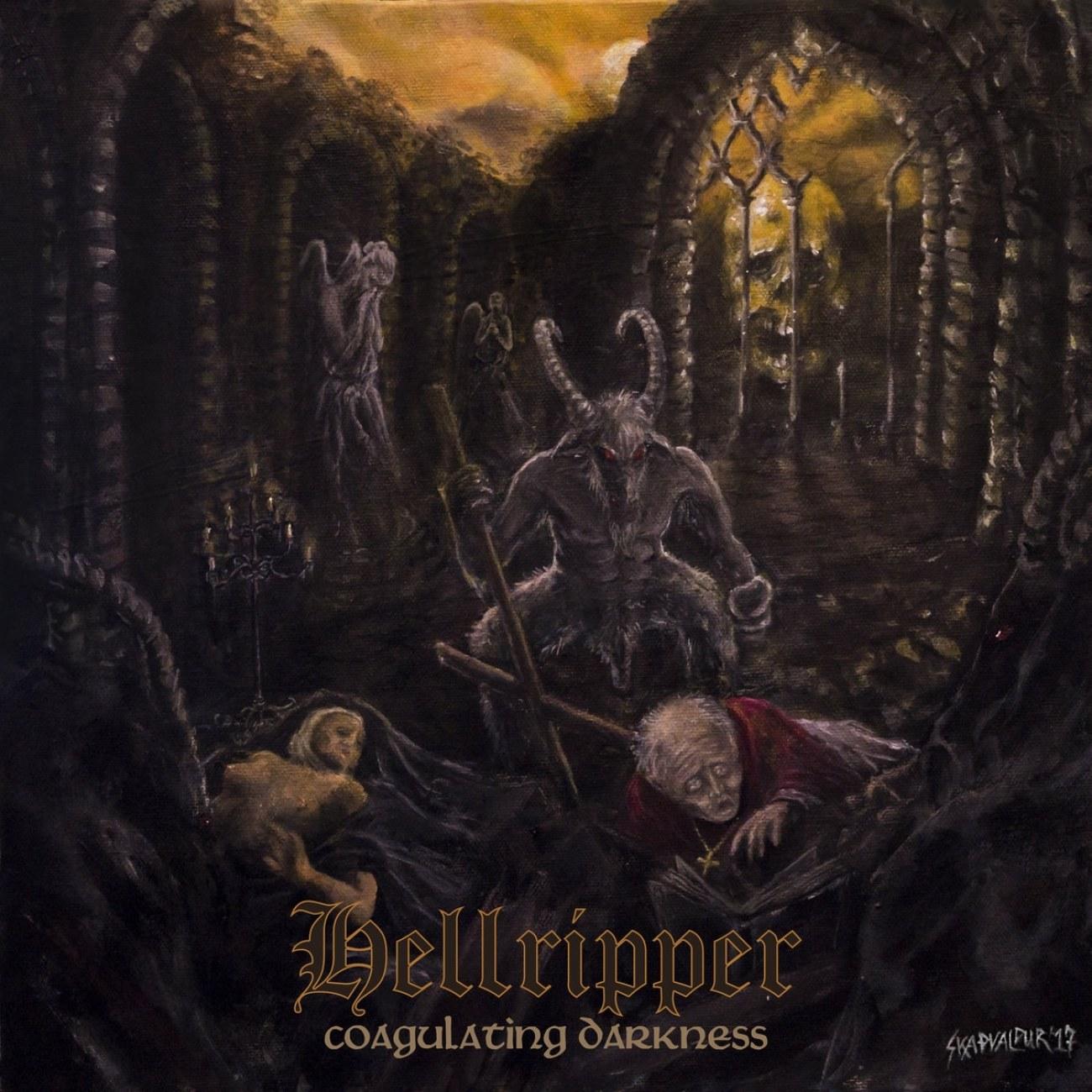 Reviews for Hellripper - Coagulating Darkness