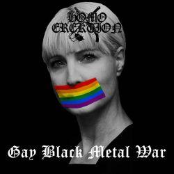 Homo Erektion - Gay Black Metal War