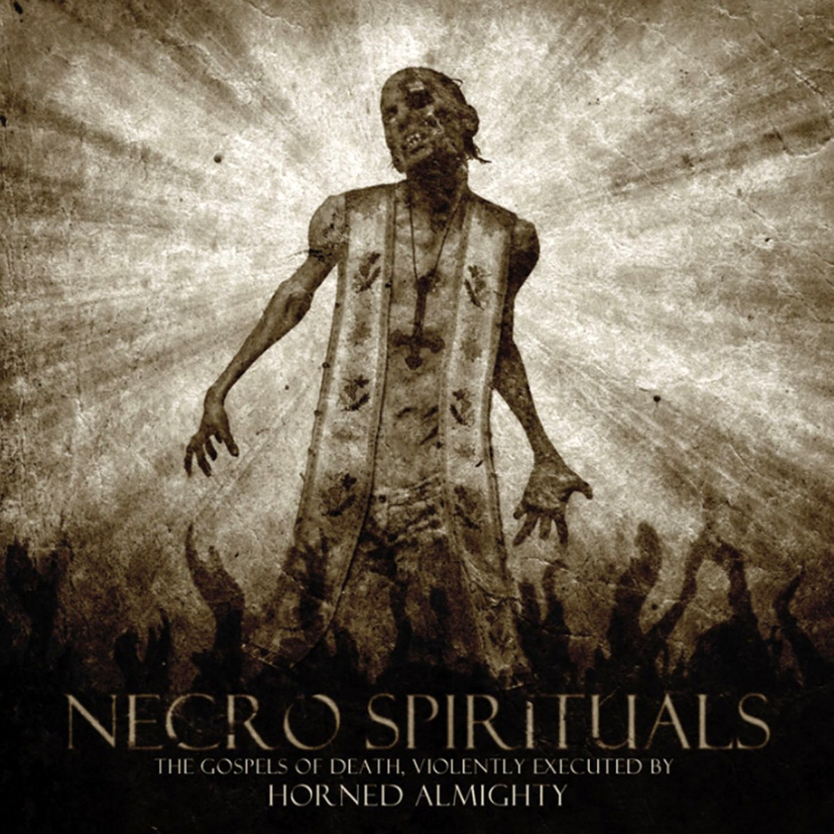 Review for Horned Almighty - Necro Spirituals