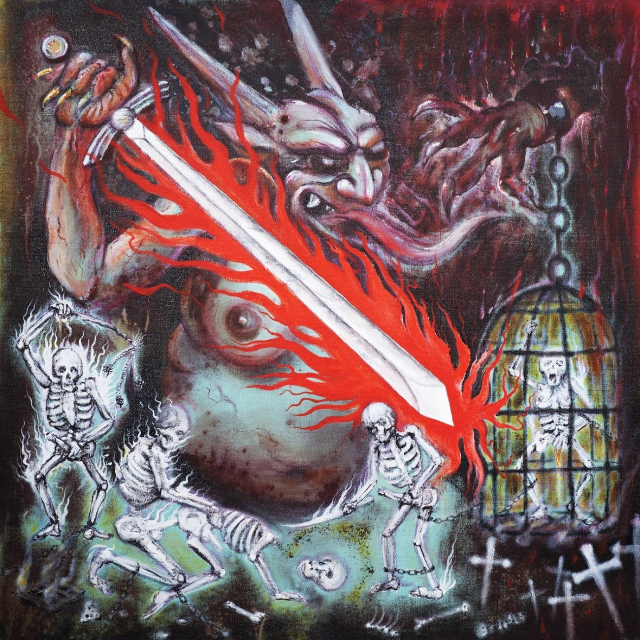 Reviews for Impaled Nazarene - Vigorous and Liberating Death