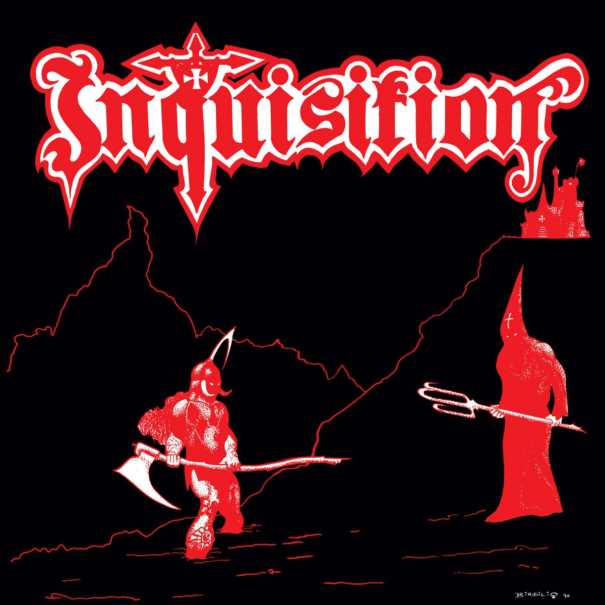 Review for Inquisition - Anxious Death