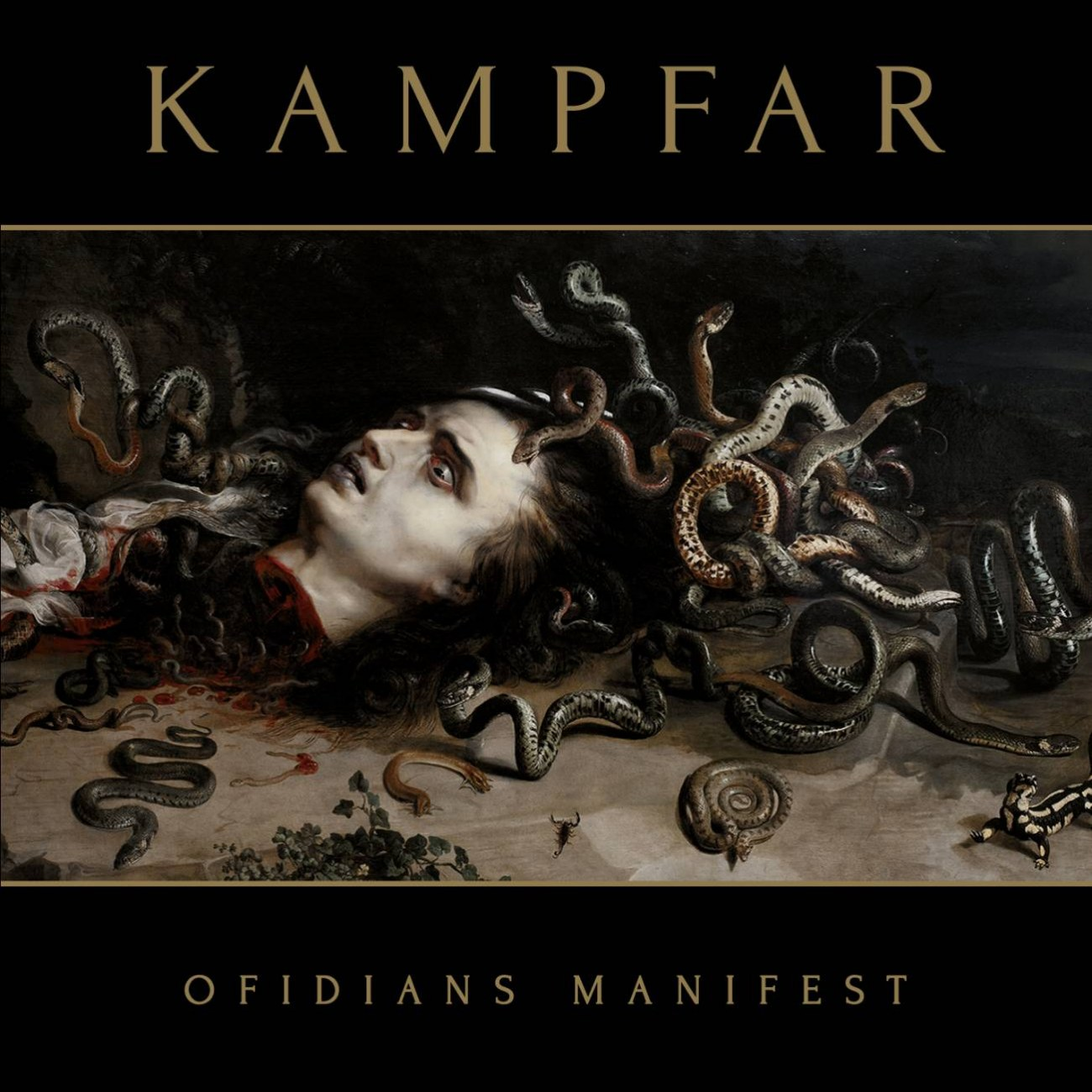 Review for Kampfar - Ofidians Manifest