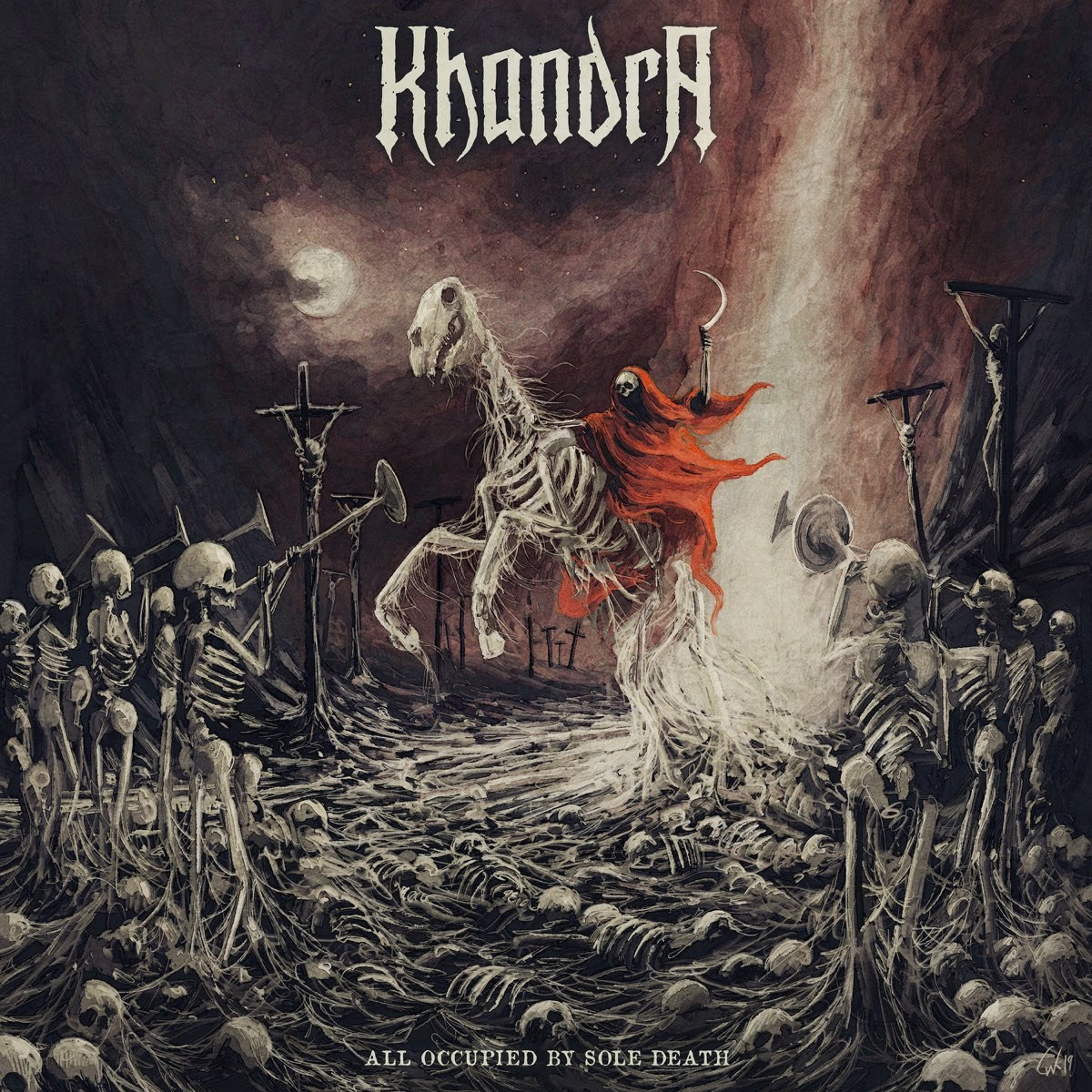 Reviews for Khandra - All Occupied by Sole Death