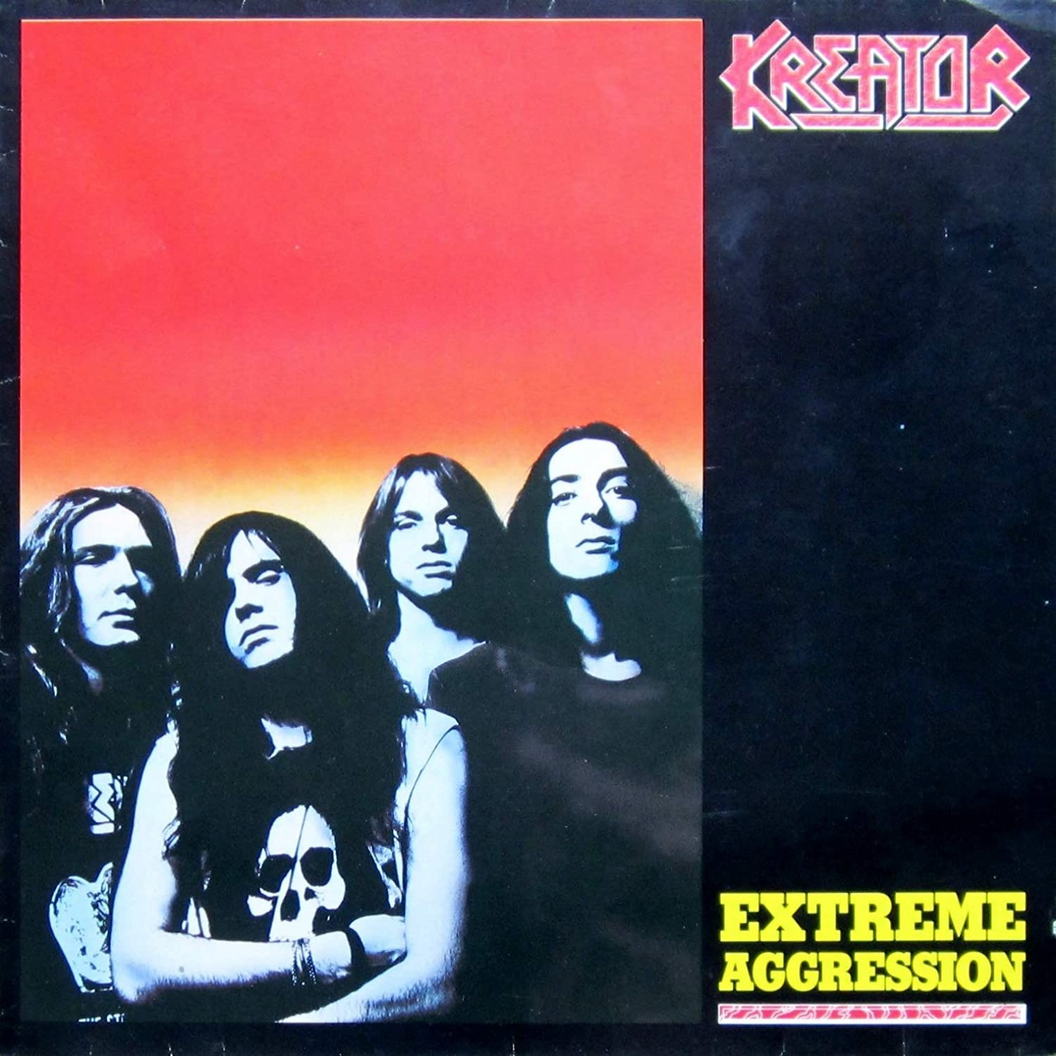 Best 1989 Black Metal album: 'Kreator - Extreme Aggression'