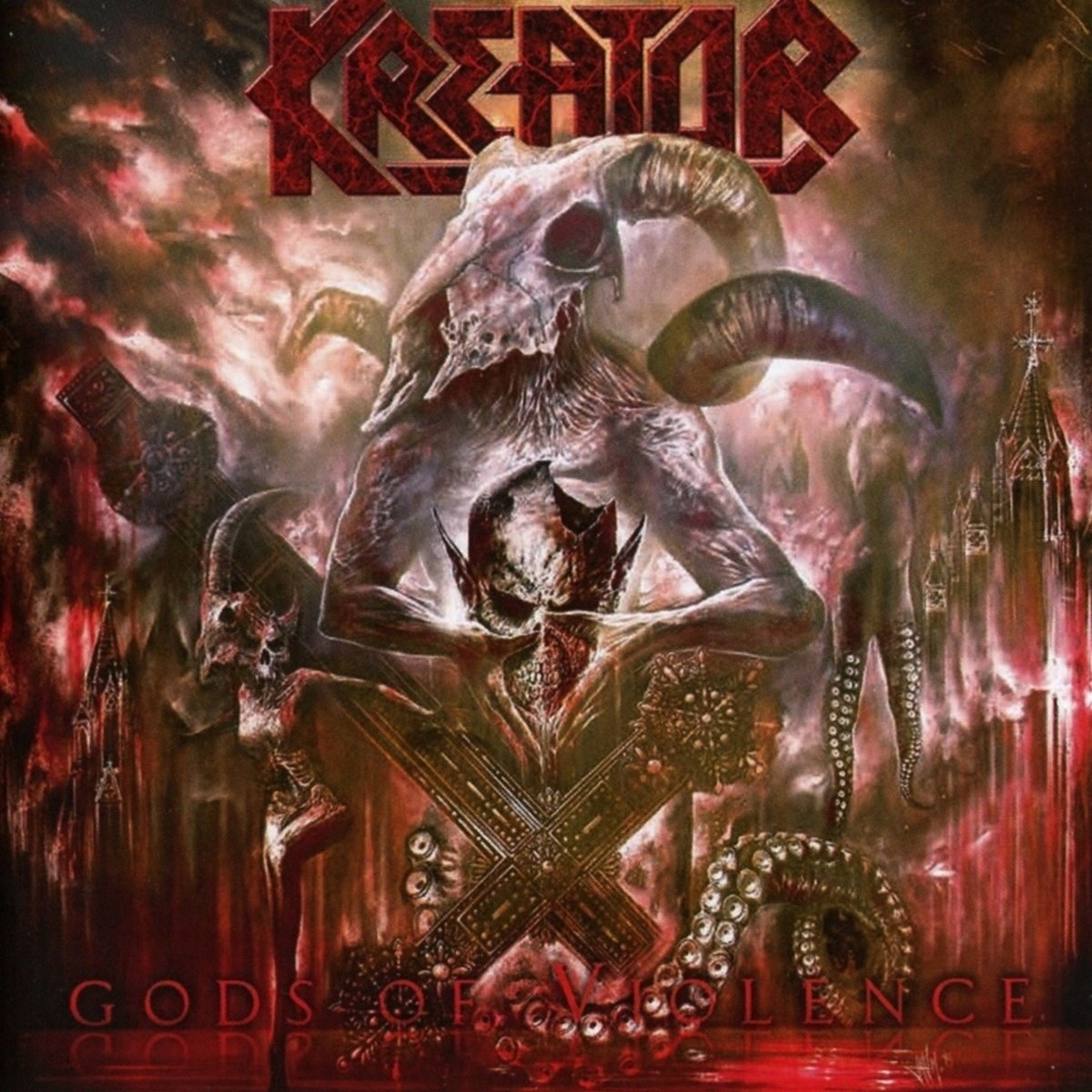 Review for Kreator - Gods of Violence