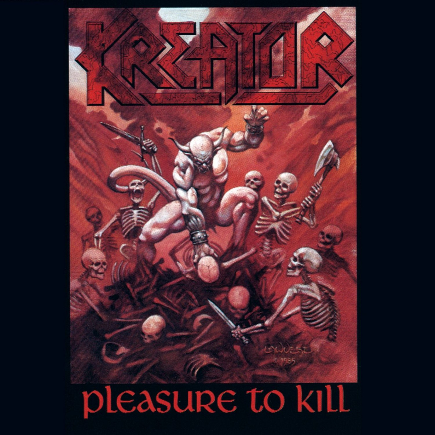 Review for Kreator - Pleasure to Kill