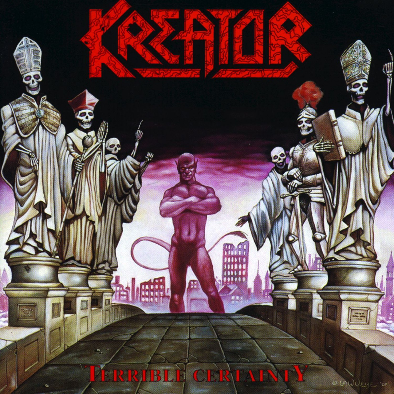 Review for Kreator - Terrible Certainty