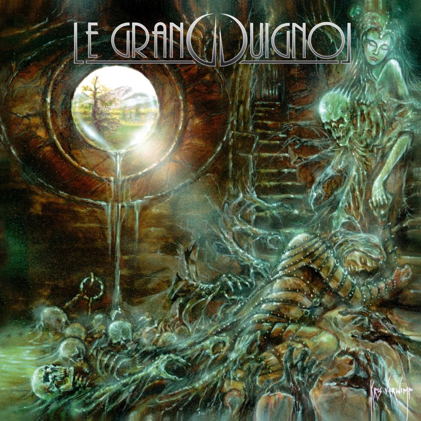 Best Luxembourgish Black Metal album: 'Le Grand Guignol - The Great Maddening'