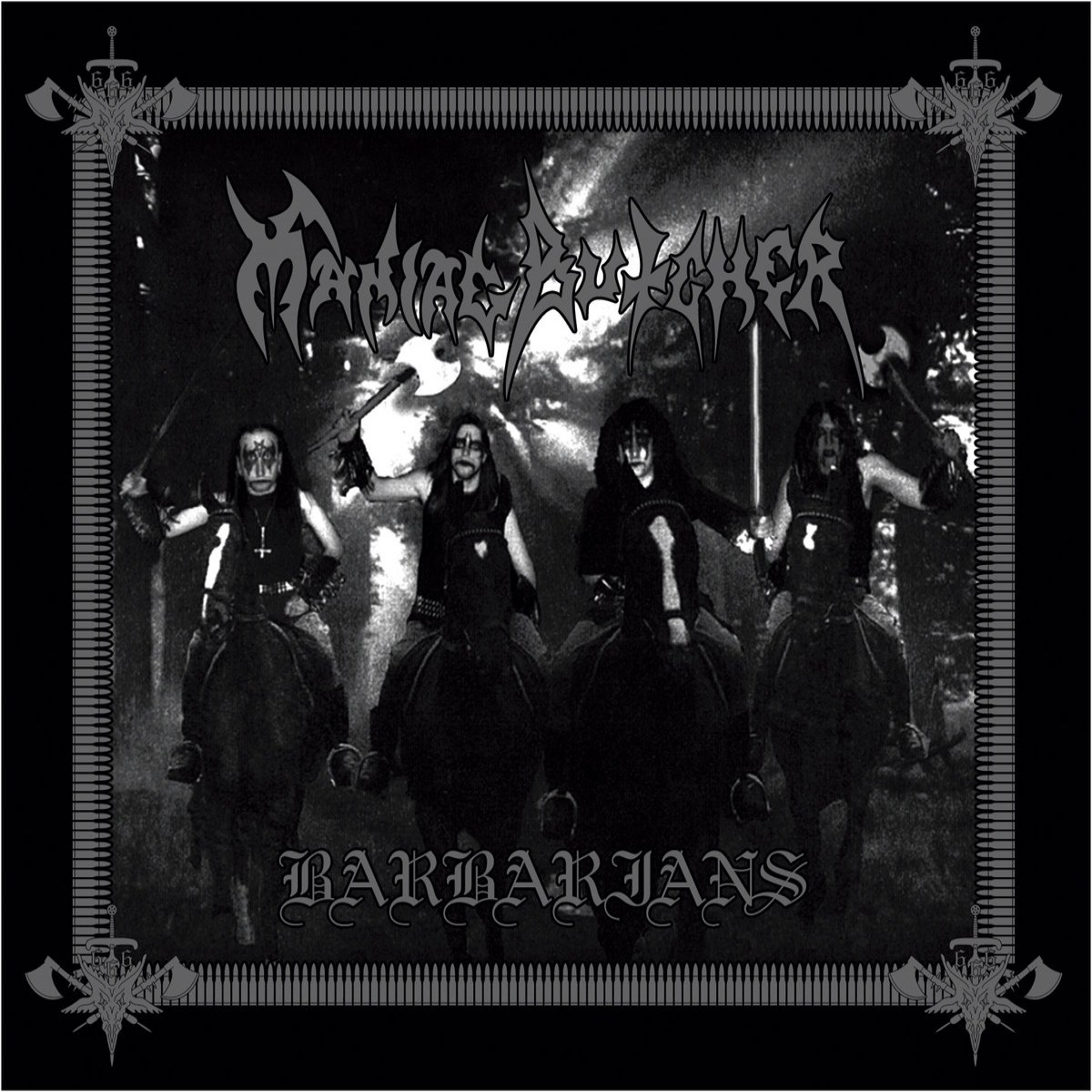 Review for Maniac Butcher - Barbarians