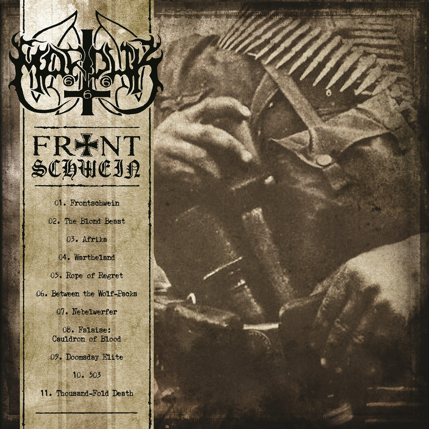 Review for Marduk - Frontschwein