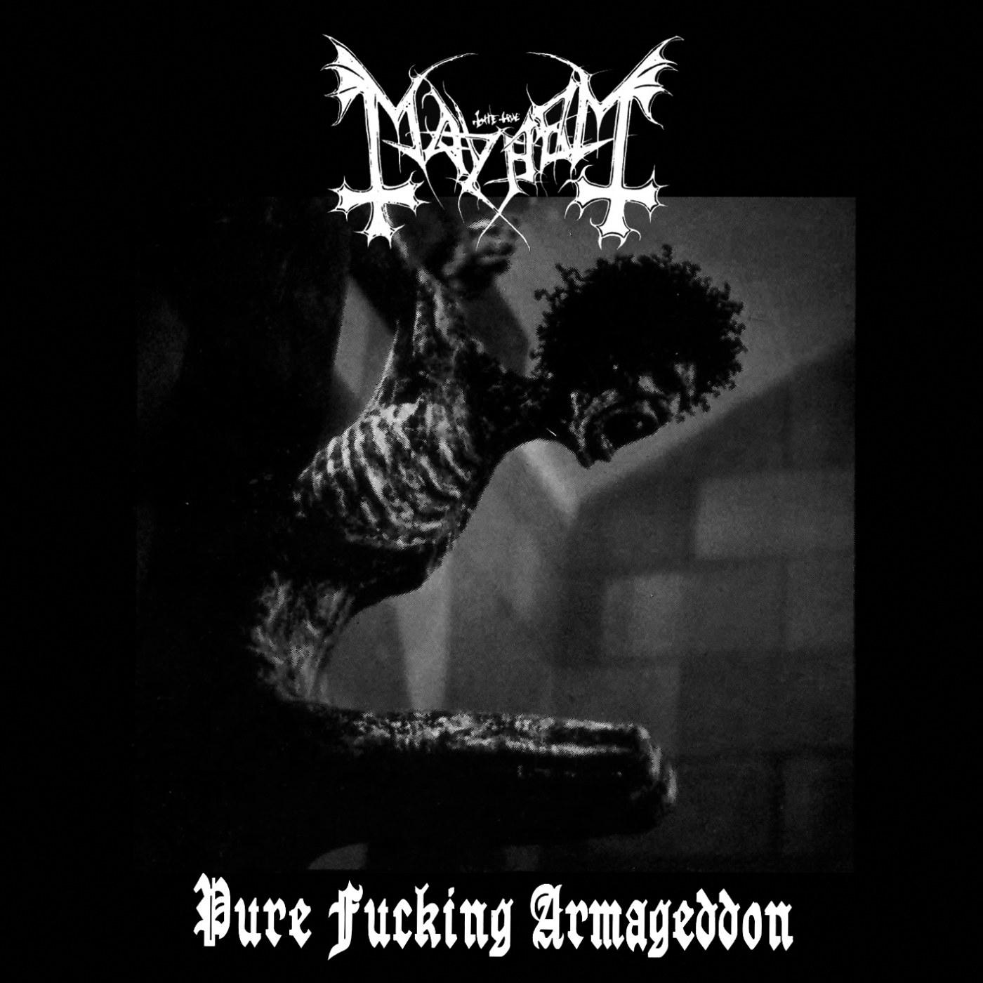 Reviews for Mayhem (NOR) - Pure Fucking Armageddon