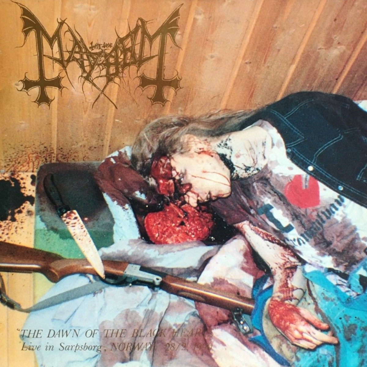 Reviews for Mayhem (NOR) - The Dawn of the Black Hearts (Live in Sarpsborg - 1990)