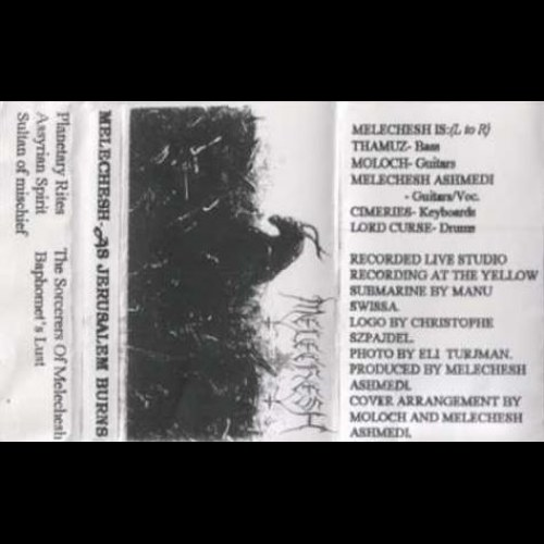 Review for Melechesh - As Jerusalem Burns...