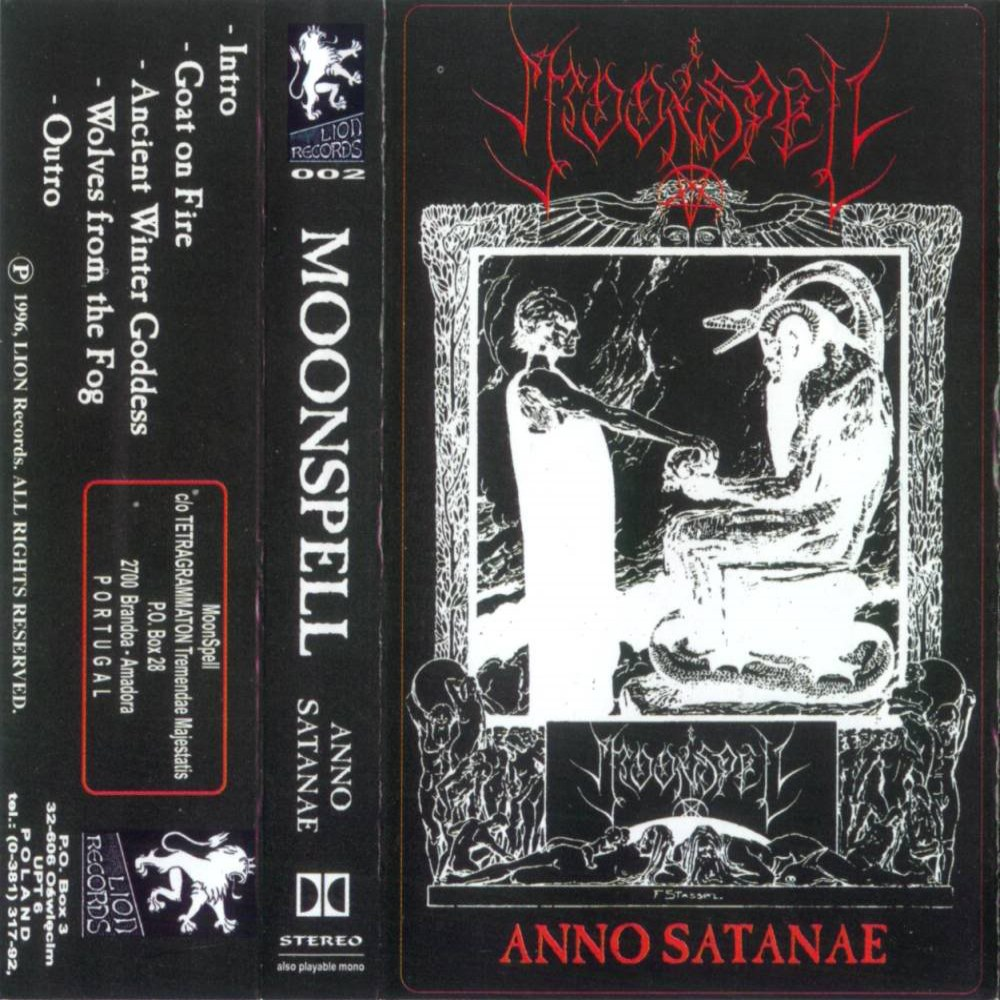 Moonspell - Anno Satanæ