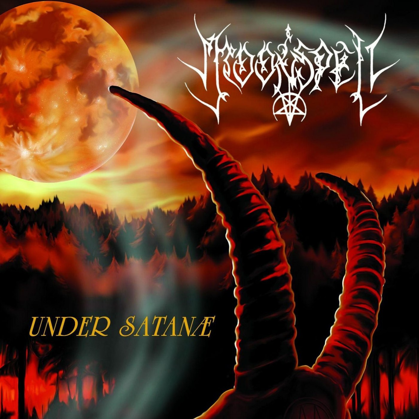 Reviews for Moonspell - Under Satanæ