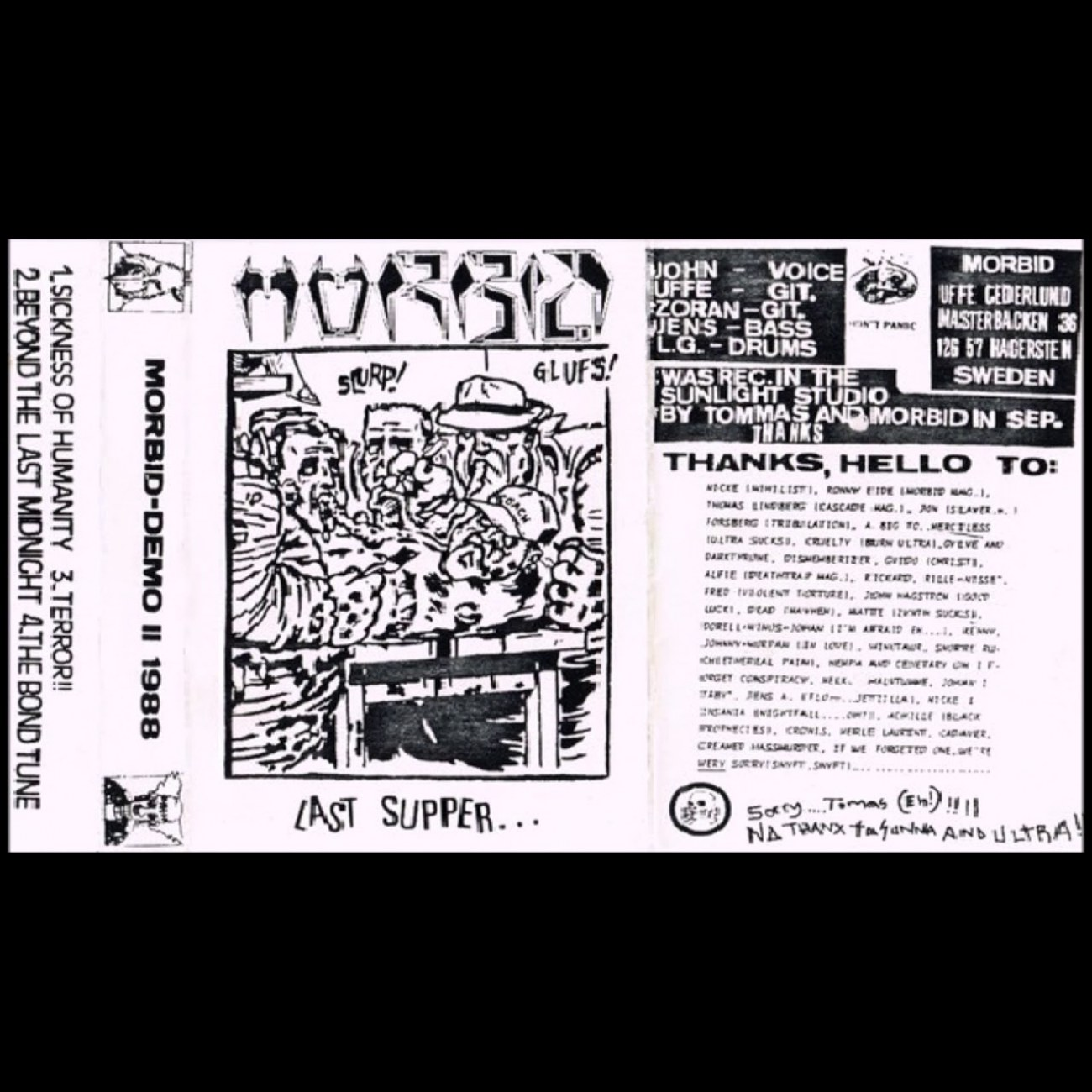 Review for Morbid (SWE) - Last Supper...