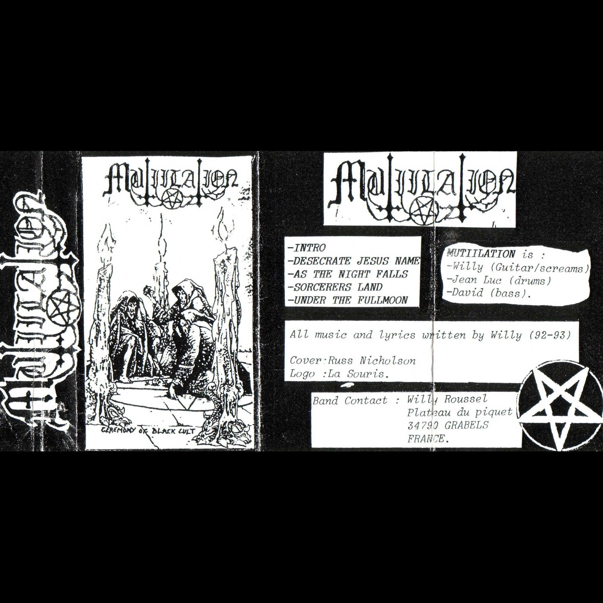 Review for Mütiilation - Ceremony of the Black Cult