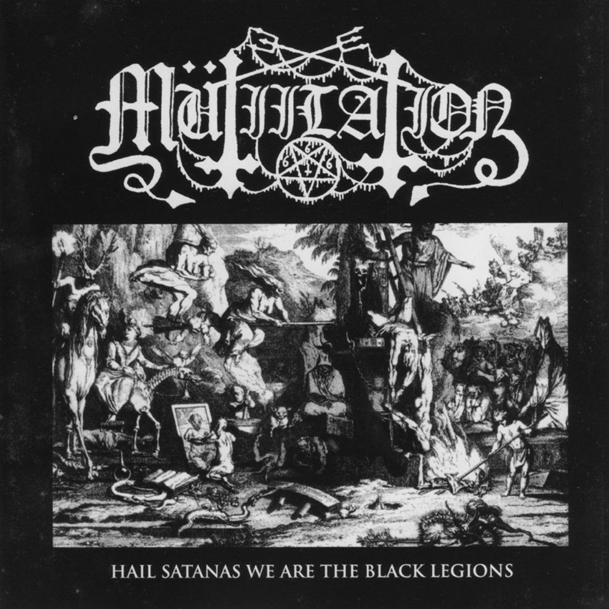 Review for Mütiilation - Hail Satanas We Are the Black Legions