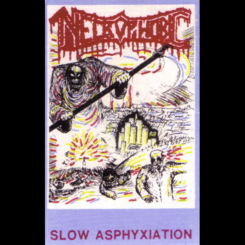 Reviews for Necrophobic - Slow Asphyxiation