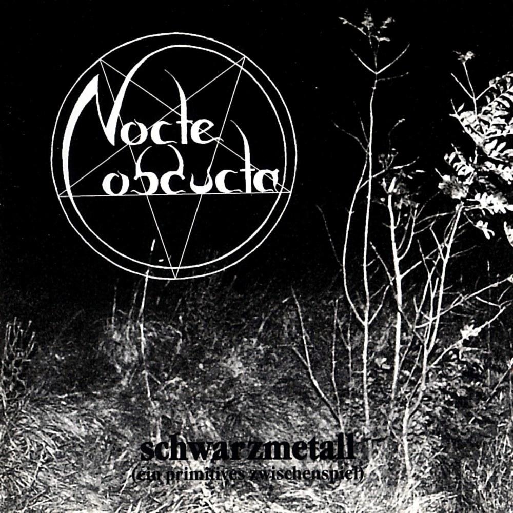Review for Nocte Obducta - Schwarzmetall (Ein Primitives Zwischenspiel)