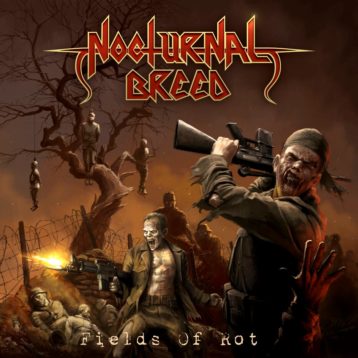Review for Nocturnal Breed - Fields of Rot