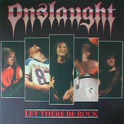 Review for Onslaught - Let There Be Rock