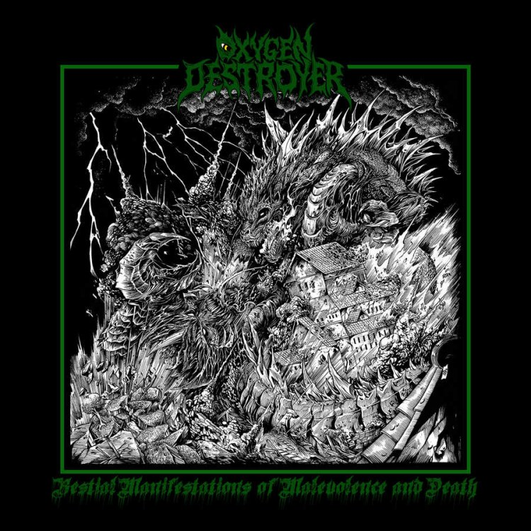Reviews for Oxygen Destroyer - Bestial Manifestations of Malevolence and Death