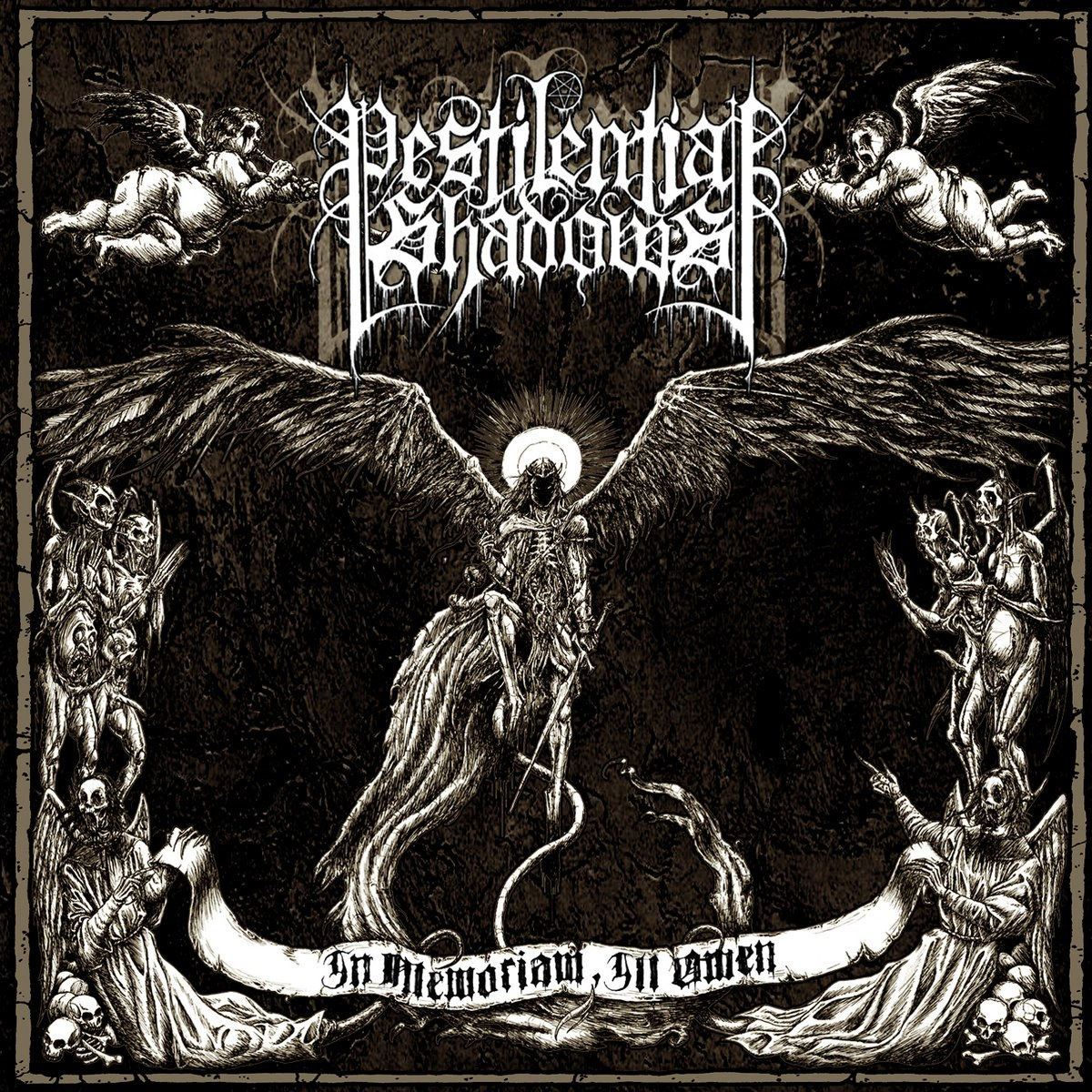 Review for Pestilential Shadows - In Memoriam, Ill Omen