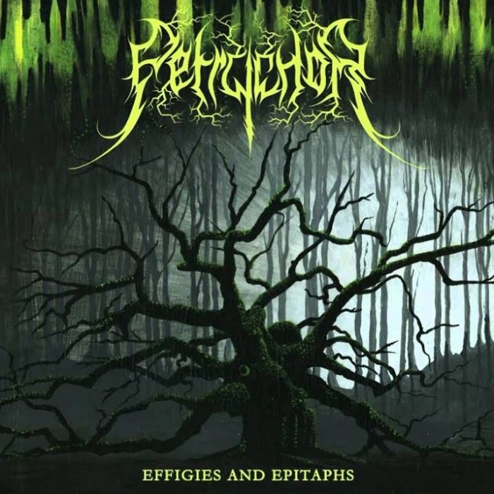 Review for Petrychor - Effigies and Epitaphs