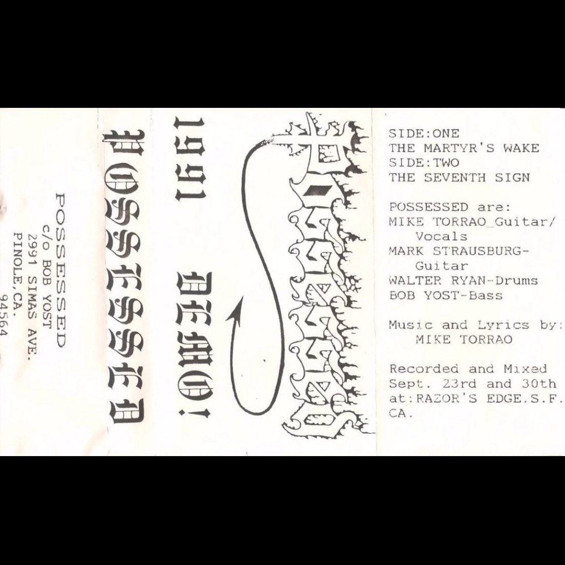 Reviews for Possessed - Demo 1991