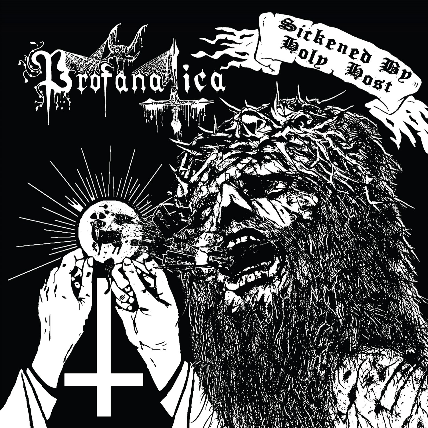 Review for Profanatica - Sickened by Holy Host