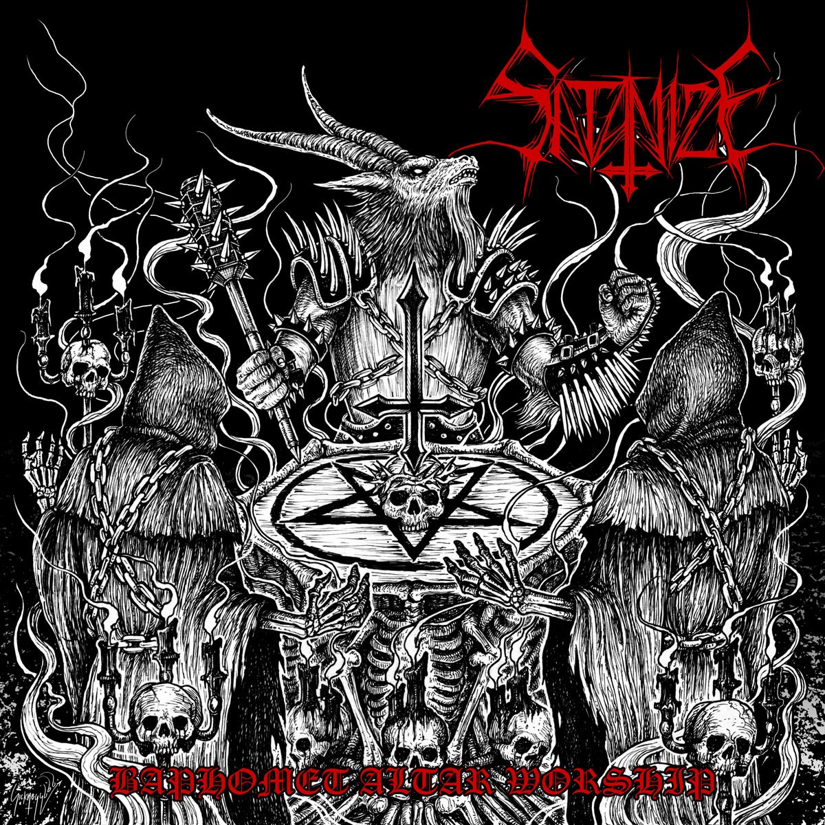 Reviews for Satanize - Baphomet Altar Worship