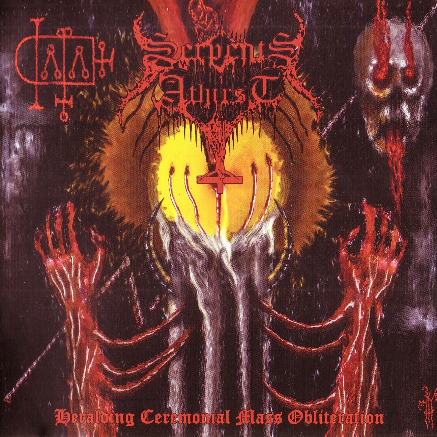 Reviews for Serpents Athirst - Heralding Ceremonial Mass Obliteration