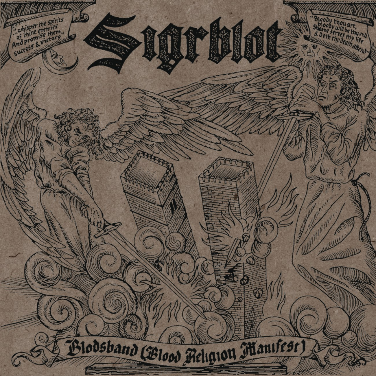 Review for Sigrblot - Blodsband (Blood Religion Manifest)