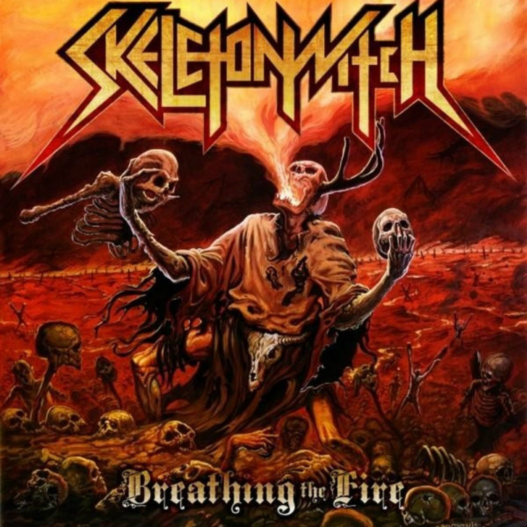 Review for Skeletonwitch - Breathing the Fire