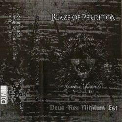 Reviews for Blaze of Perdition - Deus Rex Nihilum Est