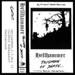 Reviews for Hellhammer - Triumph of Death