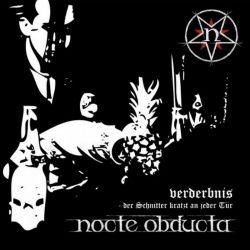 Reviews for Nocte Obducta - Verderbnis - Der Schnitter Kratzt An Jeder Tür