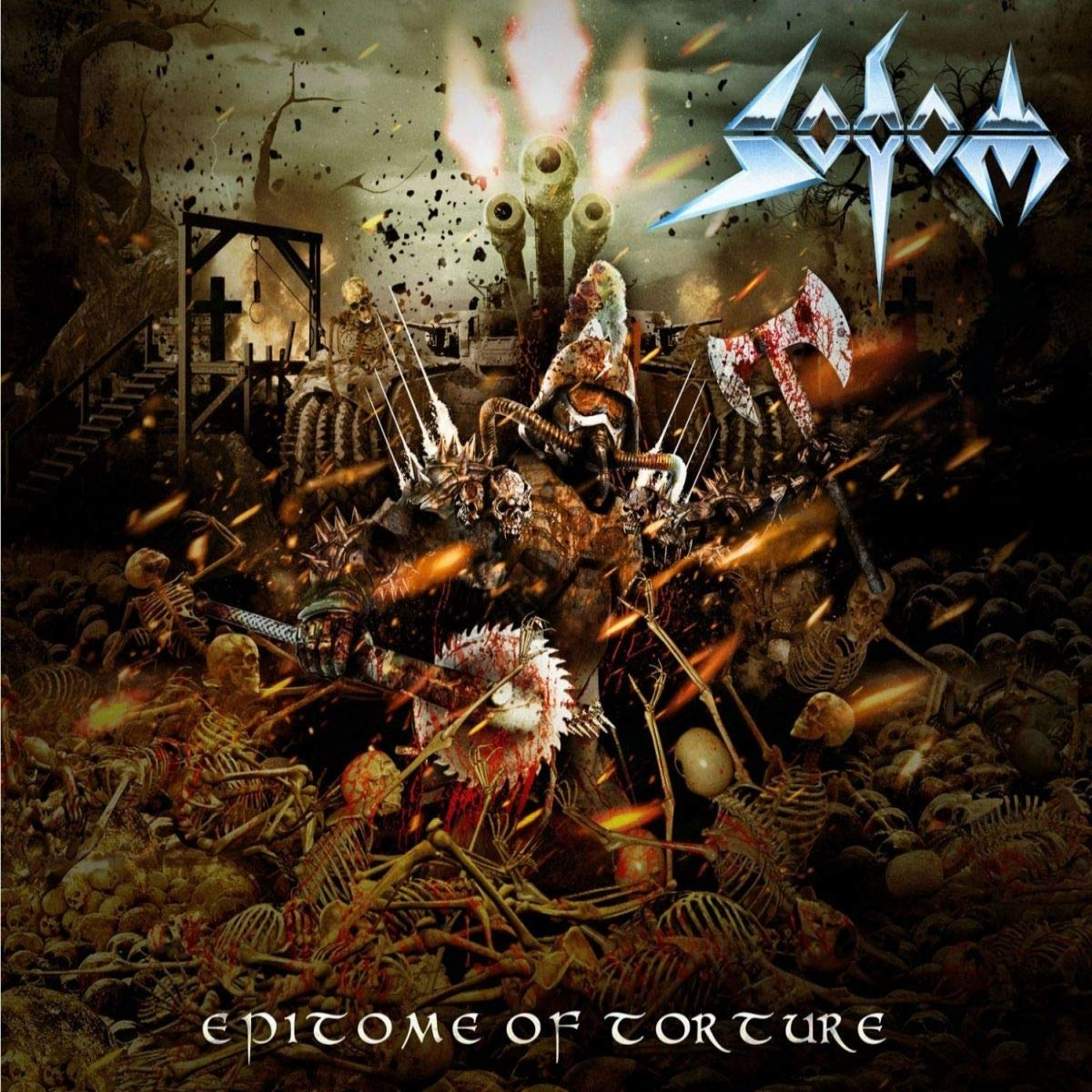Review for Sodom - Epitome of Torture