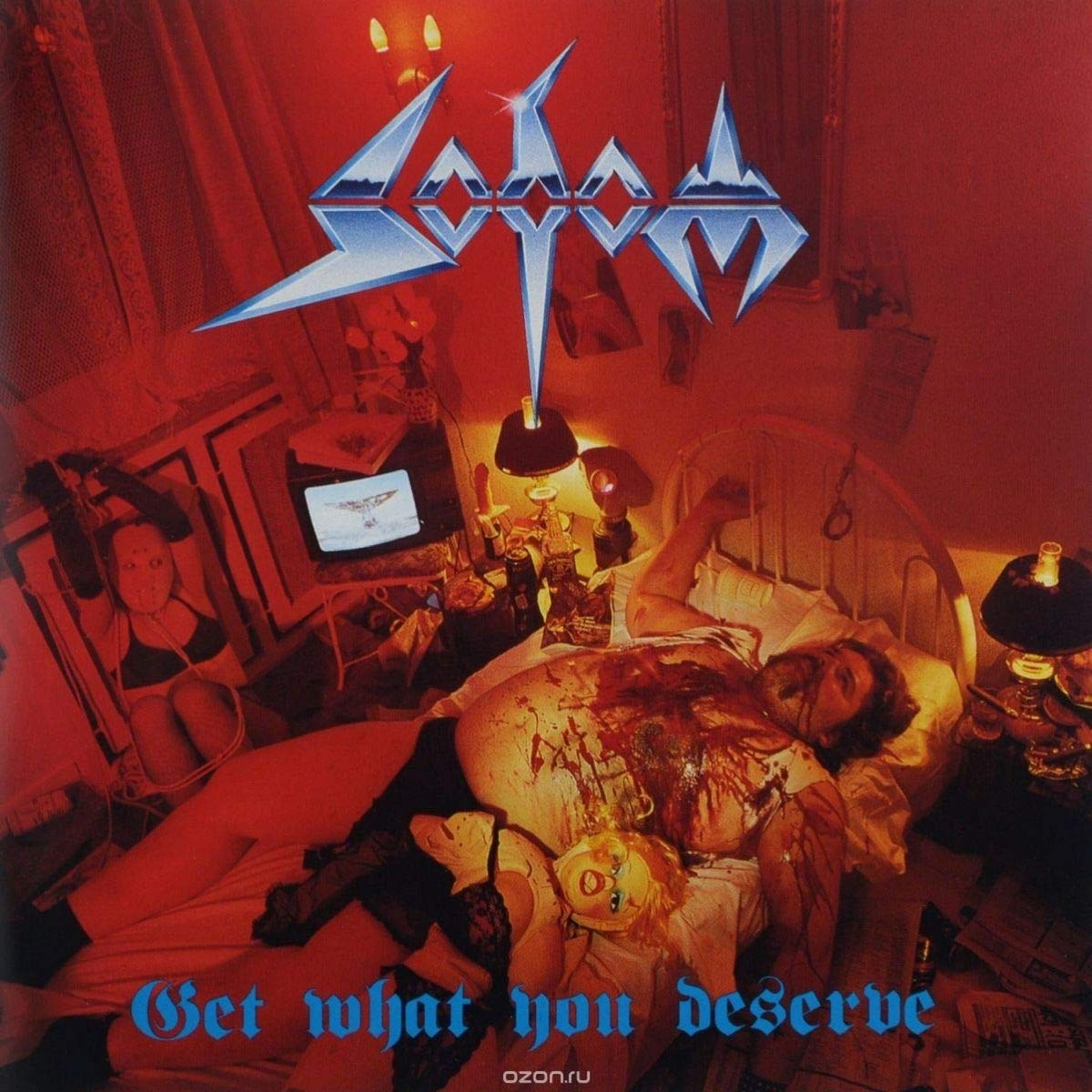 Review for Sodom - Get What You Deserve